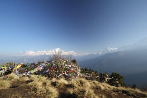 Annapurna Gebirge
